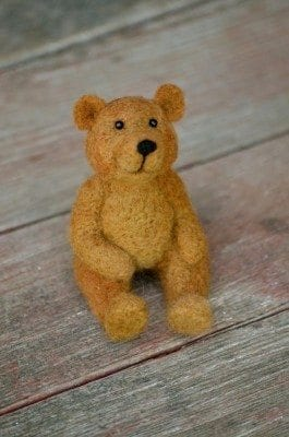 A Day for Teddy Bears at Bear Creek Felting