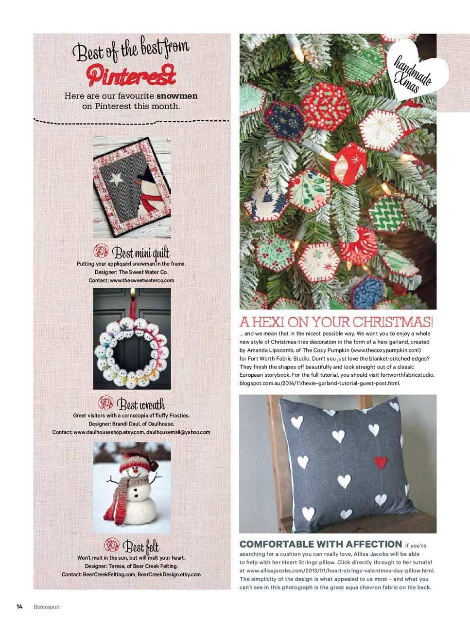 Feature in Homespun Magazine-page-001