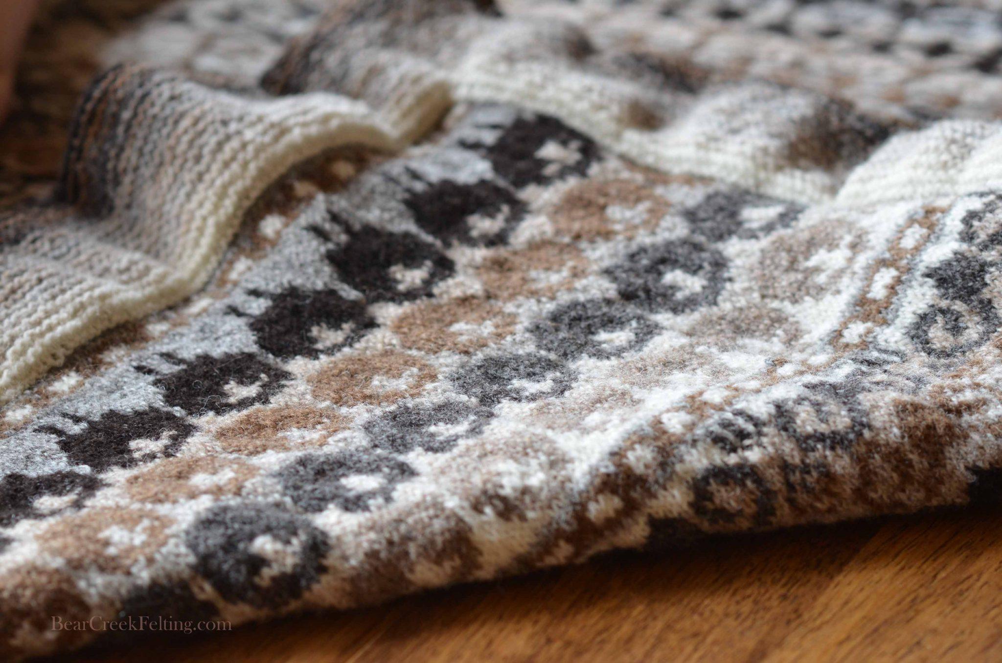 shetland wool blanket