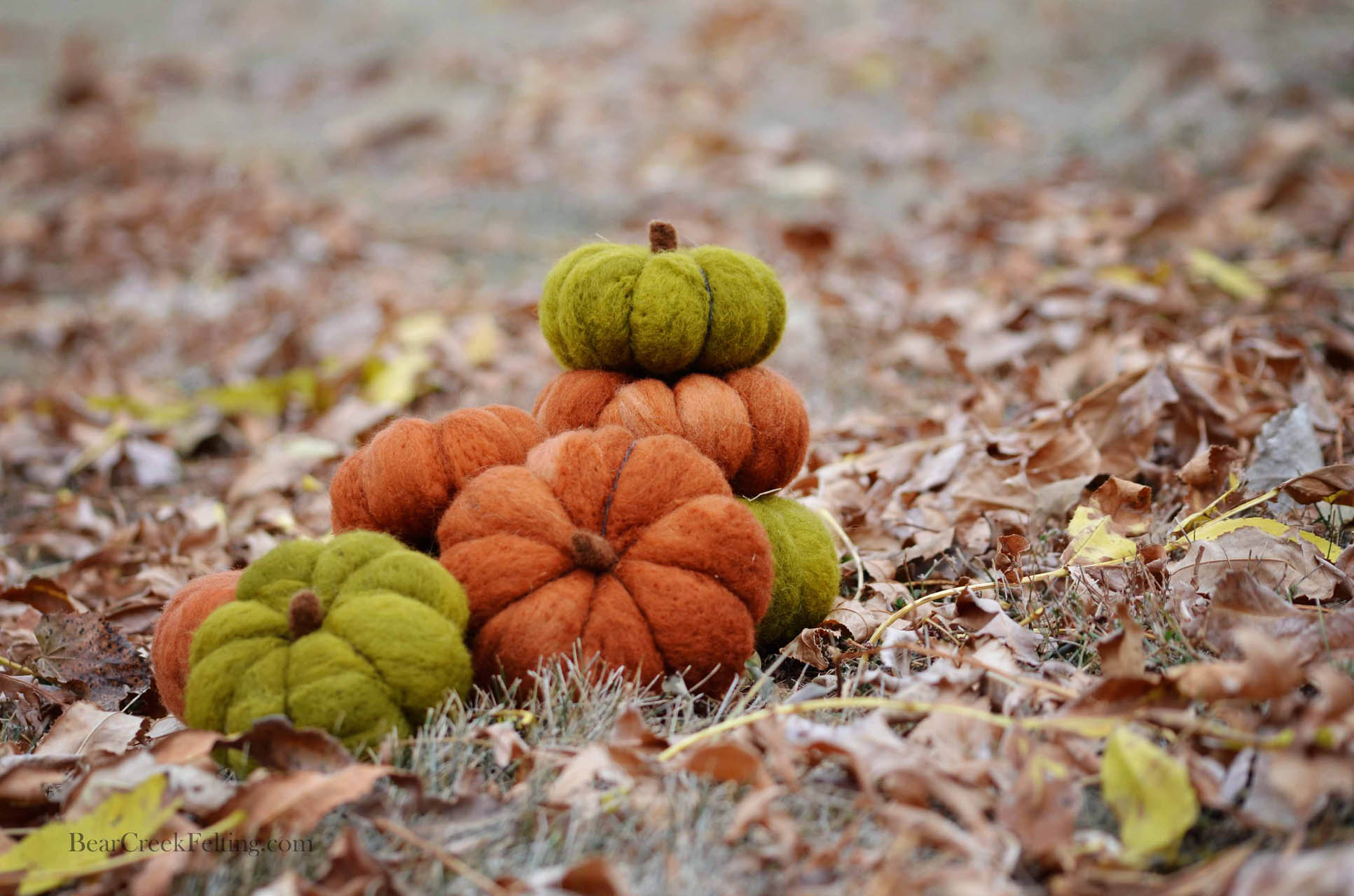 Fall felting projects