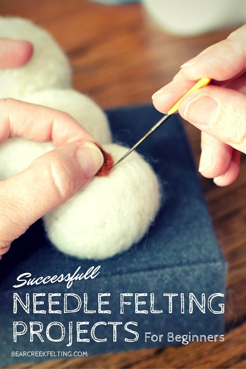 felting projects for beginners