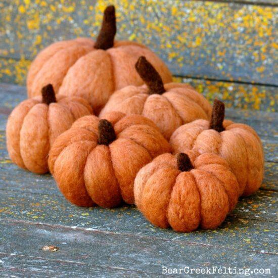 Extra Pumpkin wool