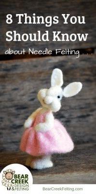 needle felting tips