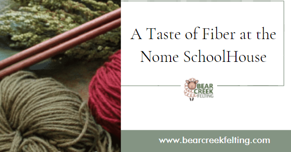 A Taste of Fiber at the Nome SchoolHouse