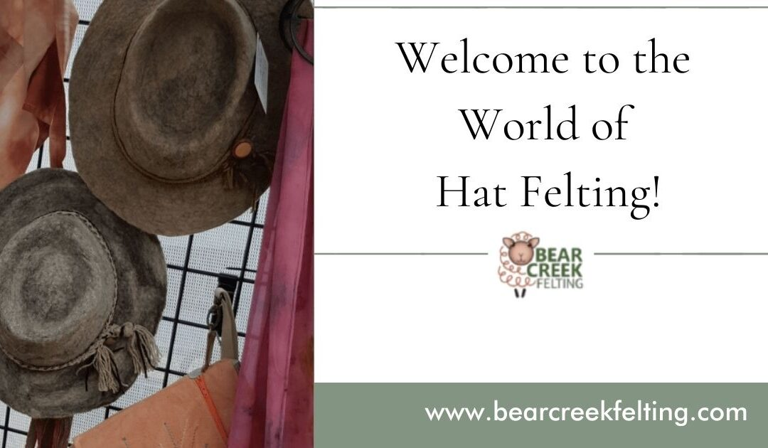 Welcome to the World of Hat Felting!