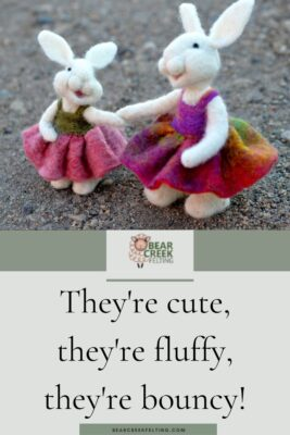 They're cute, they're fluffy, they're bouncy!